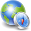 64x64px size png icon of Globe compass