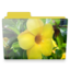 64x64px size png icon of flower folder
