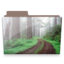 64x64px size png icon of forest folder