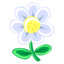 64x64px size png icon of White Flower