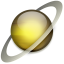 64x64px size png icon of Saturn
