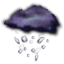 64x64px size png icon of big rain