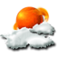 64x64px size png icon of sun cloud