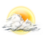 64x64px size png icon of cloudy partly