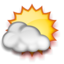64x64px size png icon of Mostly Sunny
