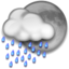 64x64px size png icon of Night Rain