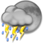 64x64px size png icon of Night Thunderstorms