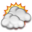 64x64px size png icon of Partly Cloudy