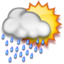64x64px size png icon of Scattered T-Storms