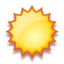 64x64px size png icon of Sunny
