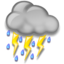 64x64px size png icon of Thunderstorms