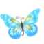 64x64px size png icon of Butterfly blue
