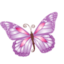 64x64px size png icon of Butterfly purple