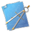 64x64px size png icon of Compasses