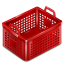 64x64px size png icon of basket empty