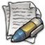 64x64px size png icon of MDI Text Editor