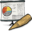 64x64px size png icon of Presentation Software