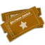 64x64px size png icon of Hollywood Ticket