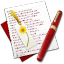 64x64px size png icon of Diary Bookmark