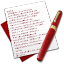 64x64px size png icon of Diary