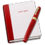 64x64px size png icon of Notebook Pen