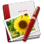 64x64px size png icon of Notebook Photo Sunflower