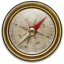 64x64px size png icon of Compass Vintage