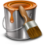 64x64px size png icon of paint bucket