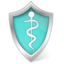 64x64px size png icon of Health care shield