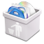 64x64px size png icon of milk trash full