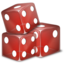 64x64px size png icon of Dices