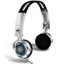 64x64px size png icon of Headphones with microphones
