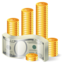 64x64px size png icon of Money