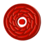 64x64px size png icon of Disc red cane