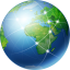 64x64px size png icon of Global Network