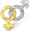64x64px size png icon of Sex