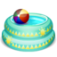 64x64px size png icon of Kiddie Pool Full