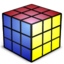 64x64px size png icon of Rubiks Cube Empty