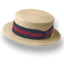 64x64px size png icon of Hat straw derby