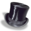 64x64px size png icon of Hat top silk 2