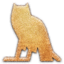 64x64px size png icon of m Owl Embossed