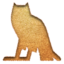 64x64px size png icon of m Owl Inserted