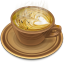 64x64px size png icon of Coffee brown