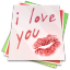 64x64px size png icon of Paper kiss