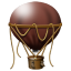64x64px size png icon of Hot Air Balloon