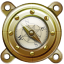 64x64px size png icon of Nautilus Compass