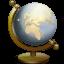 64x64px size png icon of Nautilus Globe