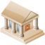64x64px size png icon of Museum