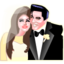 64x64px size png icon of Elvis and Priscilla Presley