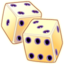 64x64px size png icon of Tumbling Dice